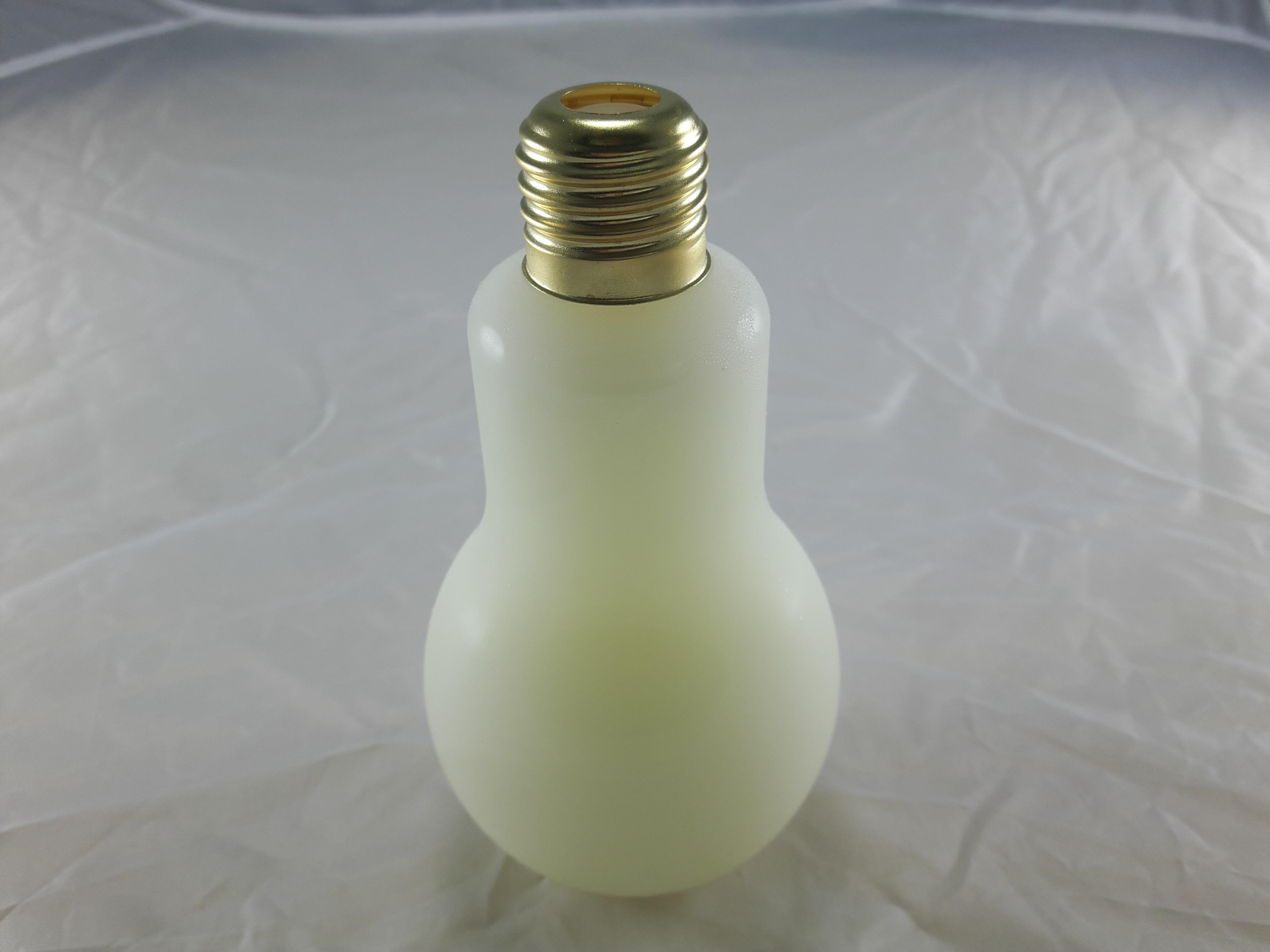 燈泡造型飲品-原味可爾必思(玻璃瓶身310cc)