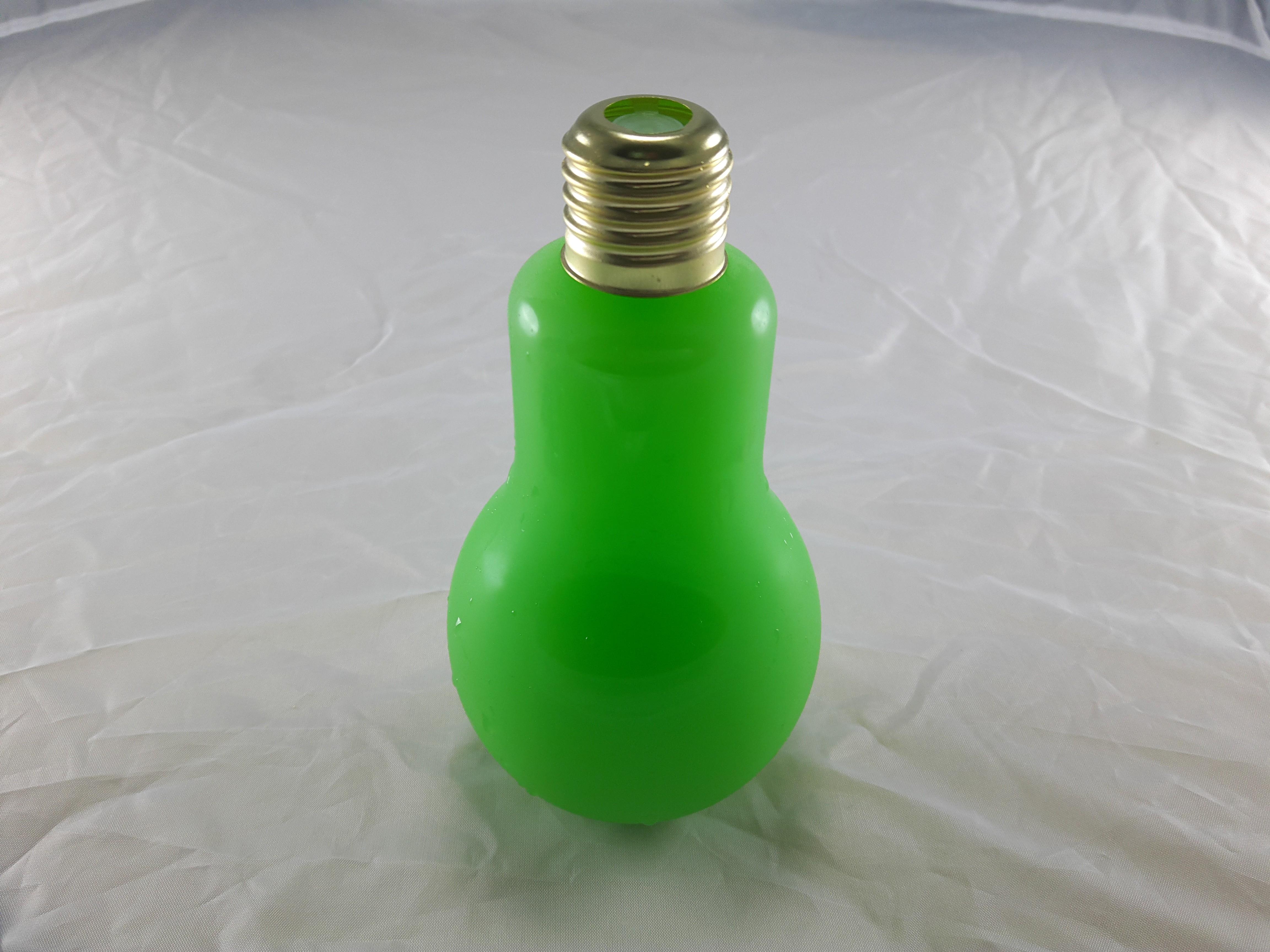 燈泡造型飲品-薄荷可爾必思(玻璃瓶身310cc)