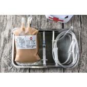 血袋飲品+超長造型吸管-鮮奶茶(330cc)