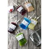 血袋飲品-50袋(桑椹汁,洛神花茶,小麥草汁,鮮奶茶,日式天皇奶茶)任搭