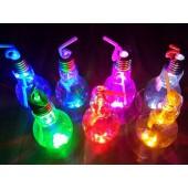 燈泡造型飲料瓶500ml(發光款,玻璃空瓶)